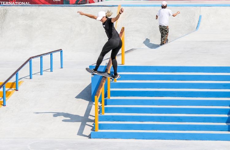 Gabriela Mazetto, Giovana Dias e Lucas Xaparral avançam às quartas de final do Aberto Internacional de Skate na China